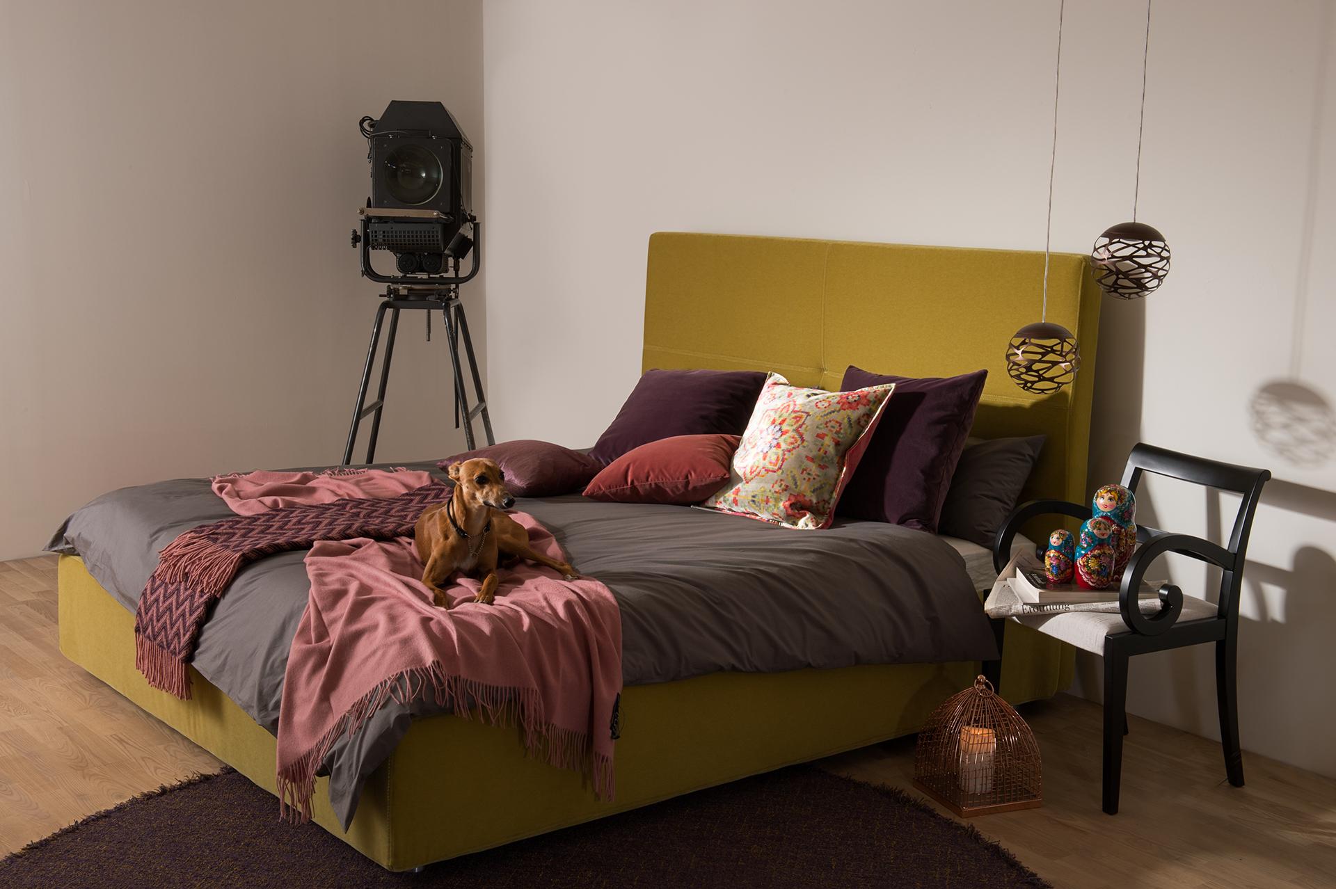 Design Bett,Schlafzimmer, Interieur, Anna M. Traenkner Fotografie Hamburg
